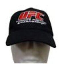 UFC Ultimate Fighting Championship black Cap/ Hat MMA Tapout new mens flexfit