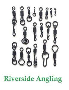 Carp Swivel Quick Change Chod Hanging Snap Pva Bag Big Eye Ring Micro Hook Clam