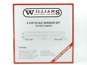O Gauge 3-Rail Williams 2404 Southern Crescent 70' Madison 5-Car Passenger Set
