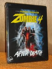 Zombie 4: After Death [1989] (Blu-ray/CD, 2018, 2-Disc) NEW Candice Daly horror