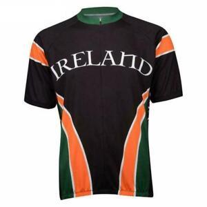 Ireland Eire Shamrock cycling Short Sleeve Jersey Cycling Jersey
