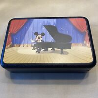 "Signed Disneyana Music Box with bow tie: ""Everybody Neat and Pretty."""