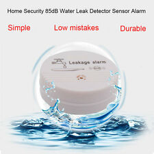 DHL ship,New Wireless Water Leak Detector Water Sensor Alarm For Home Security