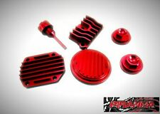 Honda CRF50 Red Engine dress up kit CRF 50 z50 Pit Bike 90cc 70cc 50cc atc70
