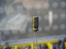 22uF 50V Electrolytic Radial Capacitors - Panasonic FC Series - 10 Pieces