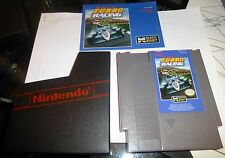 NINTENDO ENTERTAINMENT SYSTEM: NES: TURBO RACING 1985 ABSOLUTE PERFECT CONDITION
