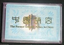 Former Imperial Palace China Playing Cards
