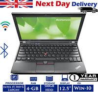 """Lenovo ThinkPad X230 12.5"""" Laptop Intel i5 3rdG 2.6Ghz 4GB RAM 500GB HDD A Grade"""