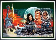 Central Africa 1995 Mnh Planet Of The Apes Souvenir Sheet Science Fiction Stamps