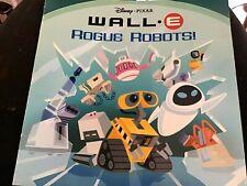 DISNEY PIXAR Wall-E Rogue Robots! Paperback Picture Book