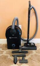 Sebo D4 Premium AirBelt Canister Vacuum Cleaner W/Bare Floor Attachment