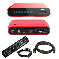 Viark DROI 4K Combo DVB-S2 Sat Receiver DVB-C/T2 Wifi + 1,5m Antennenkabel