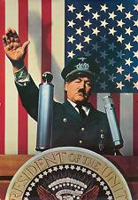 Original Vintage Poster Hitler President Flag USA Political Nazi