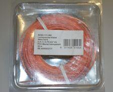 INKA 6275 Lautsprecherkabel 2x0,75qmm 20m OFC Vollkupfer PVC-Mantel Transparent