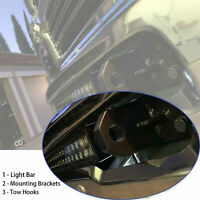 """Curved 40/"""" LED Light Bar Mounting Brackets Pair Wildcat 1000 4X Limited 2012-Up"""