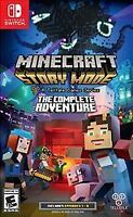 Minecraft: Story Mode -- The Complete Adventure (Nintendo Switch, 2017)