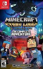 NEW! MINECRAFT STORY MODE The Complete Adventure (Nintendo Switch)