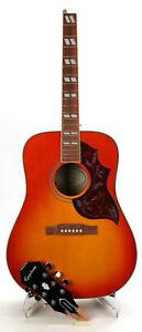 Epiphone Hummingbird Pro Acoustic-Electric Guitar - Cherry Sunburst Broken Neck