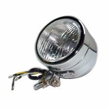 Chrome Motorcycle Headlight Lamp for Harley Old School Bobber Chopper Touring
