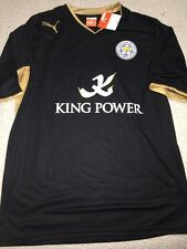 PUMA LEICESTER CITY AWAY JERSEY,NWT,LARGE