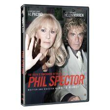 PHIL SPECTOR (Helen Mirren, Al Pacino) DVD - UK Compatible english cover
