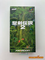 SEIKEN DENSETSU 2 Secret Of Mana Nintendo Super Famicom SFC JAPAN Ref:315095