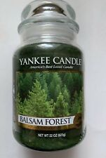 Yankee Candle BALSAM FOREST 22 oz. LGE JAR RETIRED HTF  HOLIDAY