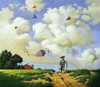 """Charles Wysocki Another Hard Day At Office Print S & N  W/ COA Image Size 20""""x17"""