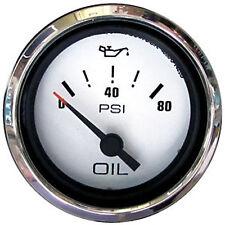 Marpac Premier Elite Series Oil Pressure Gauge Stainless Bezel