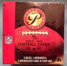 2003 Topps Pristine Football HOBBY Box Carson Palmer Rookie Card? 1 Auto 5 Relic