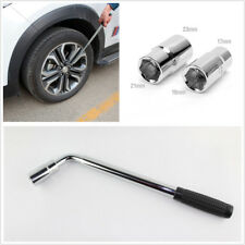 Car Wheel Nut Telescopic Spanner Socket Wrench Repair Tool Kit Insulated Nonslip