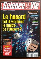 Science et vie n°1003 du 4/2001; Le hasard est-il vraiment le maître de l'univer