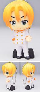 Food Wars Mascot Swing PVC Keychain Large SD Figure Takumi Aldini @82731