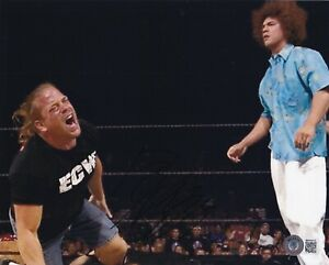BECKETT ROB VAN DAM SIGNED 8x10 PHOTO BB40028 WWF-WWE-AEW-TNA-ECW-WCW-IMPACT