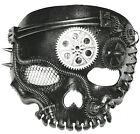 Steam Punk Mask-No Jaw Skeleto