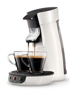 PHILIPS Senseo Viva Café HD6561/03 Kaffeepadmaschine 1450 Watt weiß
