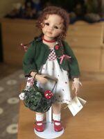 Porzellan Puppe Künstlerpuppe von Andrea Sinn  ca. 40 cm *NEUw.*