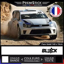 Stickers Pare Soleil Ken Block Rallye ; Auto Autocollant Voiture Racing