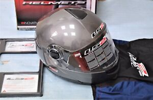 casque Modulable LS2 FF386 RIDE GLOSS TITANIUM taille S neuf