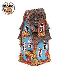 cerámica casa de velas lichterhaus Portavelas Modelo Casa De Madera 15cm 40521