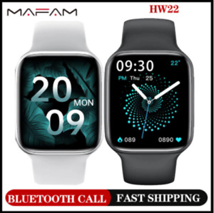 Original 2021 Mafam HW22 Smartwatch DIY Watchfaces Smart Watch Fitness Clock