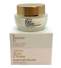 New Lanocreme COLLAGEN Formula Vitalizing Eye Cream 20g~Moisturizer Skin BNIB UK