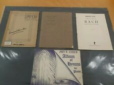 Howar Kasschan Cinnamon Grove Bach Music Lot Of Books For Piano