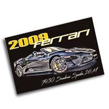 2009 Ferrari F430 Scuderia Spider 16M 11x17 Poster