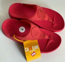 NEW! AUTHENTIC FITFLOP WALKSTAR 3 NUBUCK HIBISCUS RED SANDALS SHOES 7 38 SALE