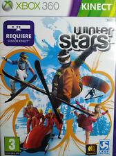 WINTER STARS. REQUIERE SENSOR KINECT. JUEGO PARA XBOX 360. NUEVO, PRECINTADO.