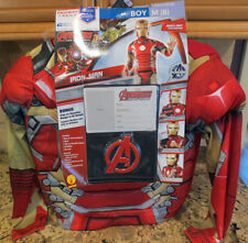 NEW Marvel Ironman 5-PIECE MEGA DELUXE Child's Costume-Personalizable - Med (8)