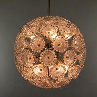 Impressive Sputnik Chandelier 51 Plexiglass Blossom 10 Lights Austrian Style