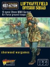 28mm Warlord Luftwaffe Field Division Squad BNIB WWII Bolt Action,