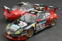 EBBRO 43182 1:43 TAISAN PORSCHE 911 996 GT3R 2000 LE MANS DIE CAST MODEL CAR